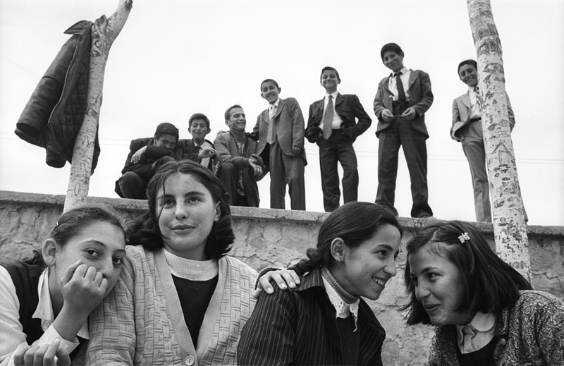 Girls and Boys, Kayapinar, Kayseri, Turkey (2001)