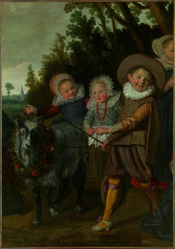 Frans Hals | Children of the Van Campen Family