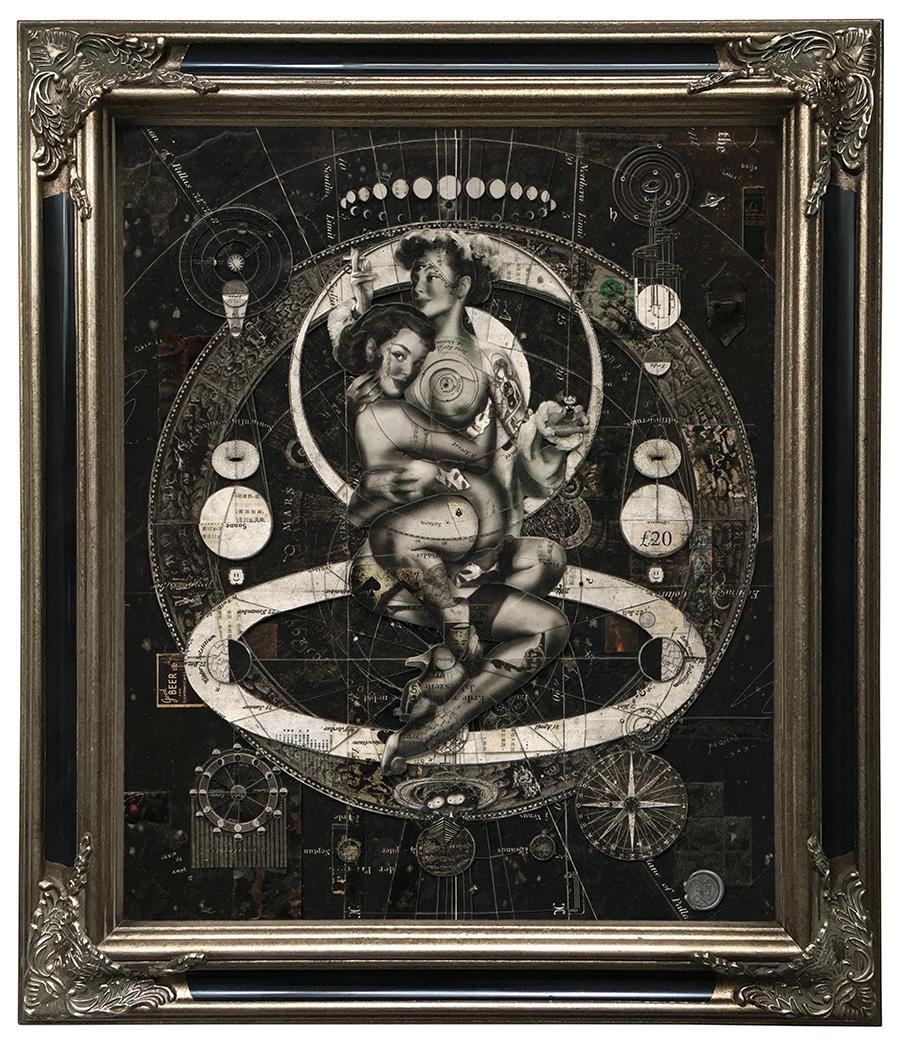 "Handiedan ""Aevitas Noir"" - Courtesy of Jonathan LeVine Projects"