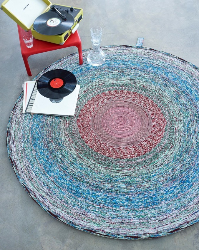 Vlisco Recycled Carpet - Courtesy of Label/Breed