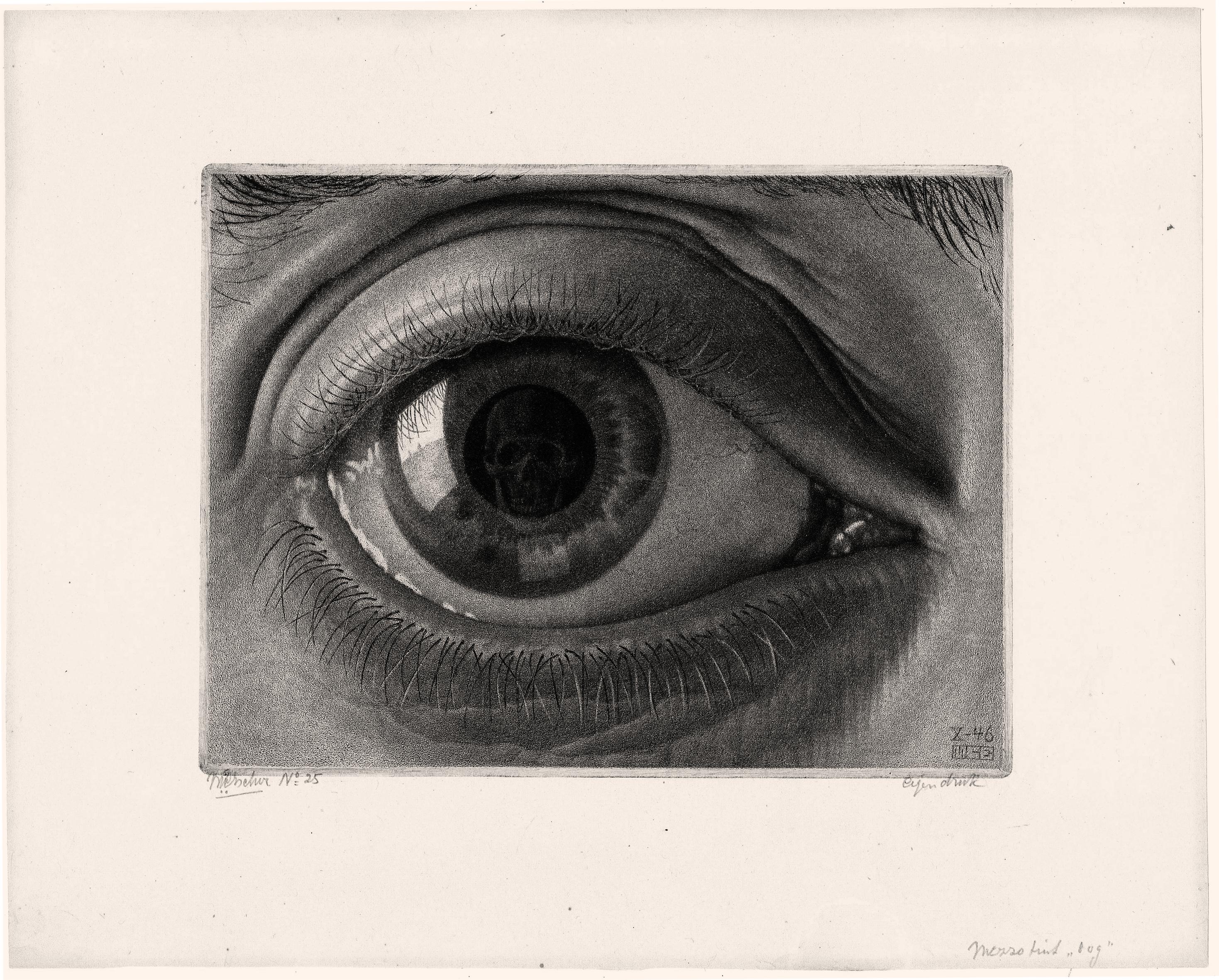 M. C. Escher Eye, 1946