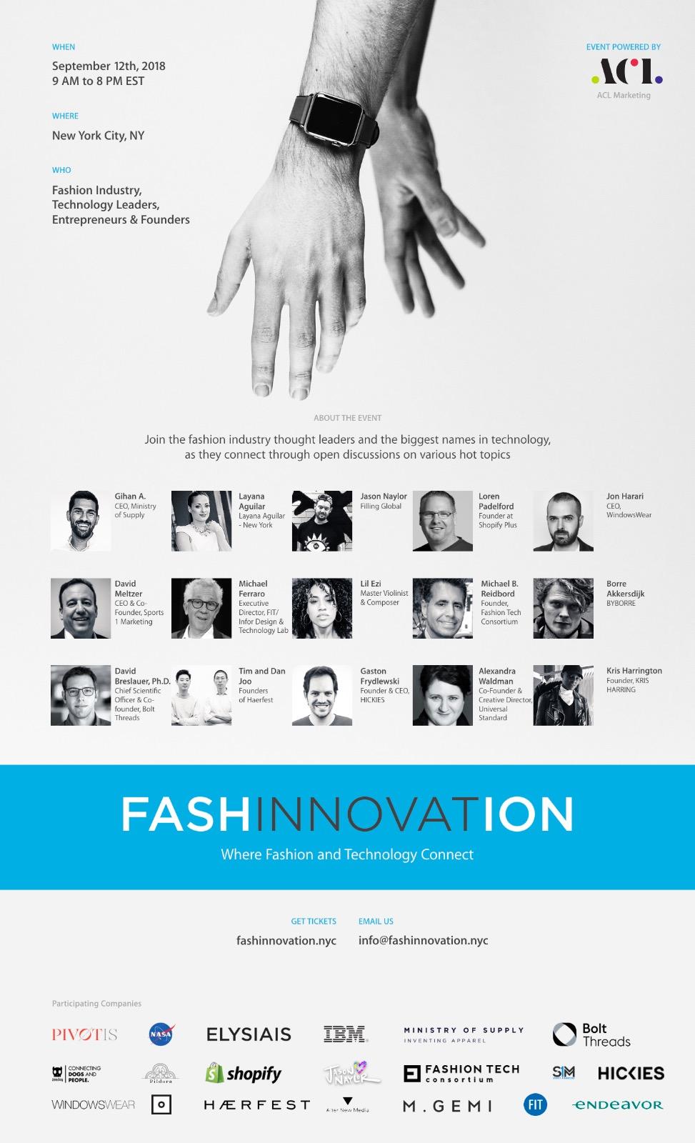 FashInnovation @ NY Fashion Week