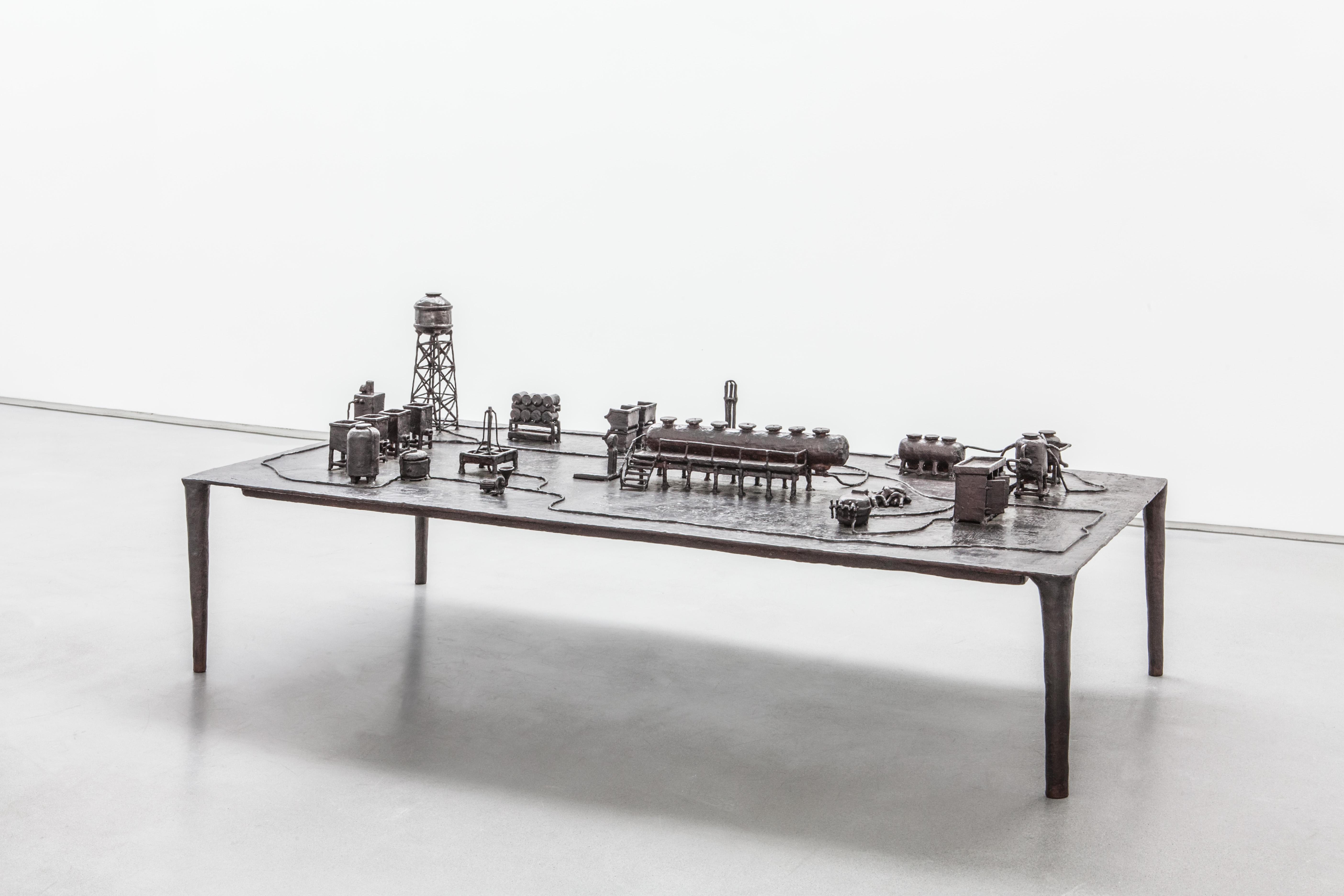 Atelier van Lieshout - Technocrat Bronze Coffee Table 2 © Carpenters Workshop Gallery
