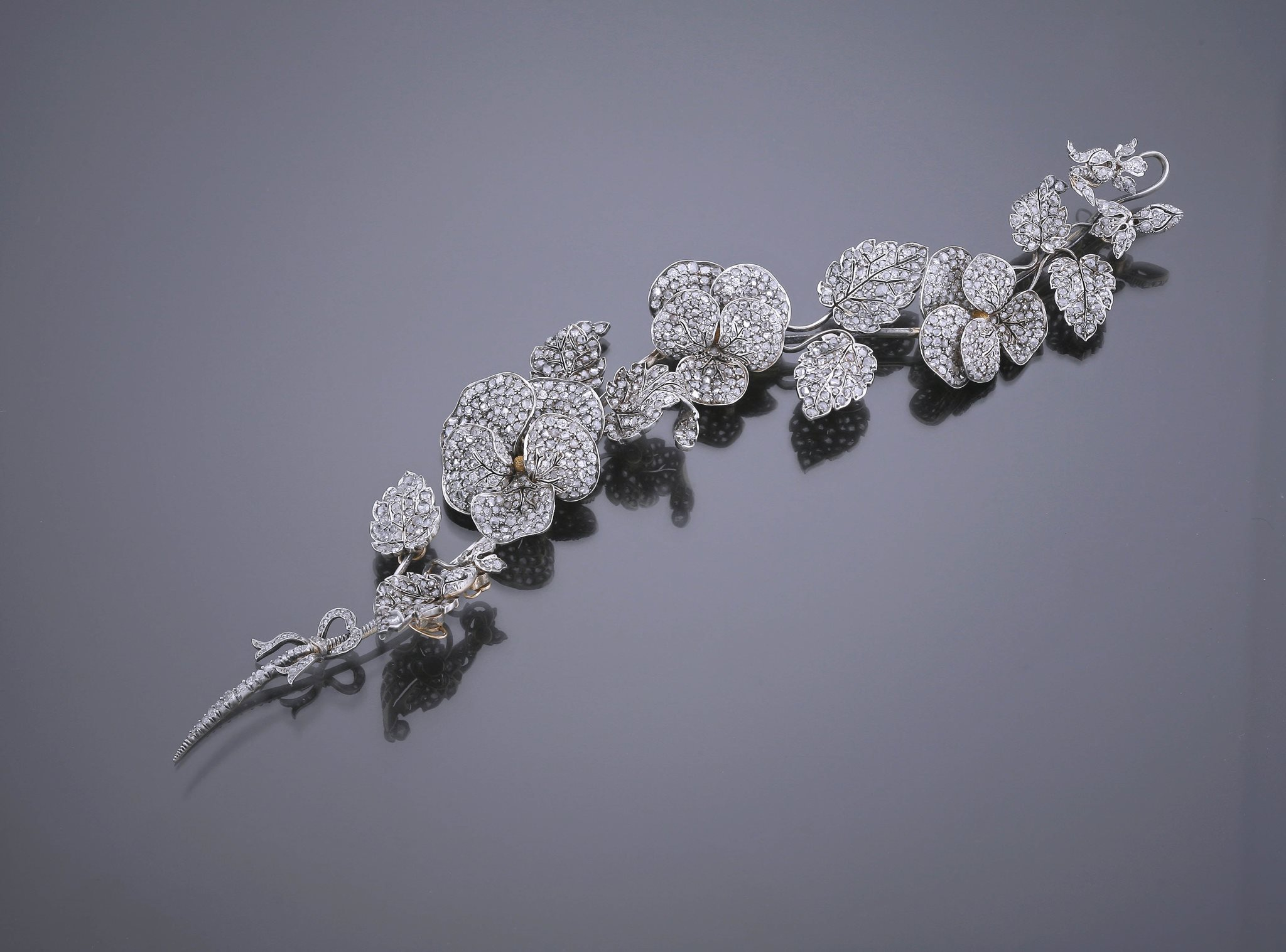 Antique Diamond Corsage Ornament - Part of the A. Aardewerk Exhibition