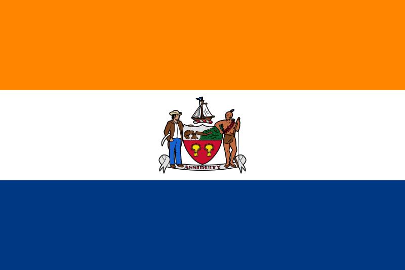 Flag of Albany, NY.