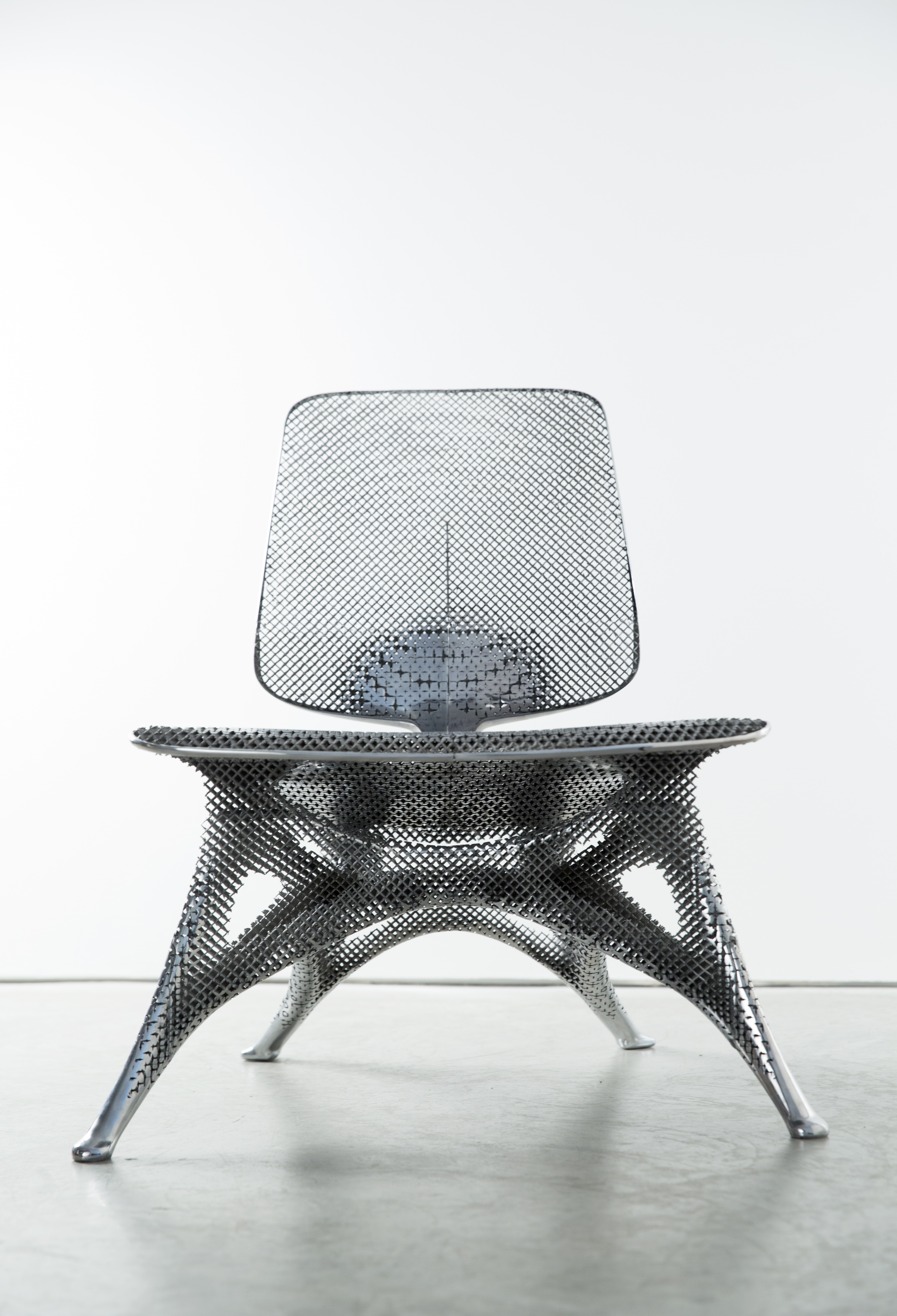 Aluminum Chair - Courtesy of Joris Laarman Lab