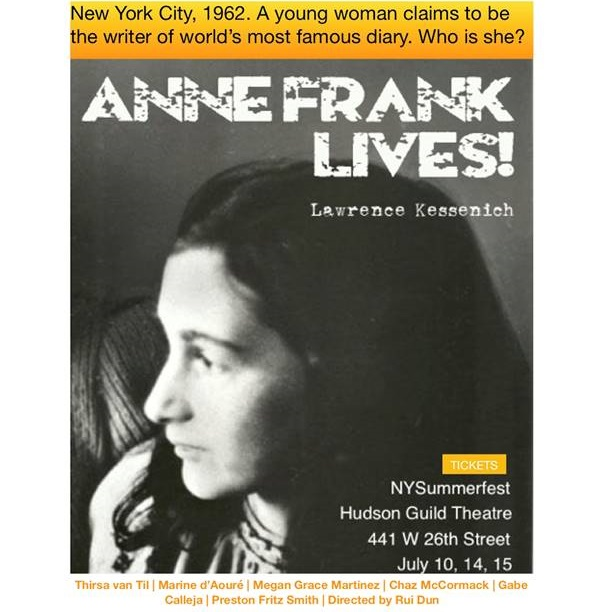 Anne Frank Lives