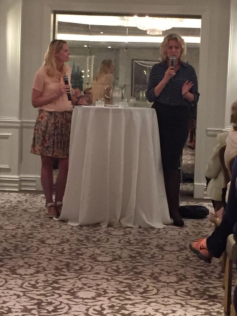 Annejet van der Zijl talking at The Netherlands Club of New York, May 30th, 2018