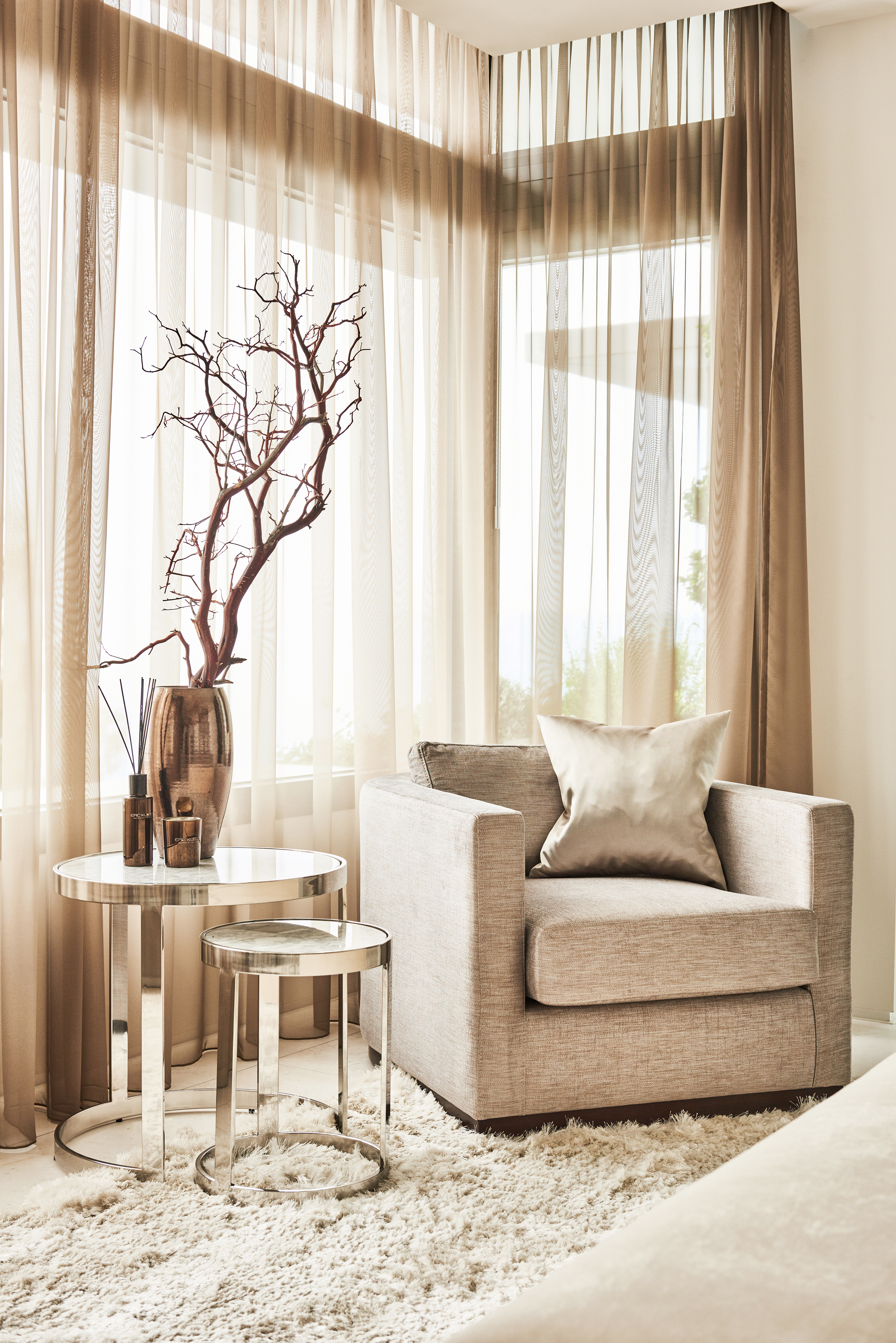 Interior by Eric Kuster | Courtesy of Haute Living