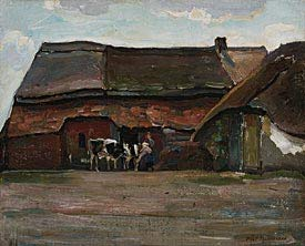 Piet Mondrian, Brabant Farmyard