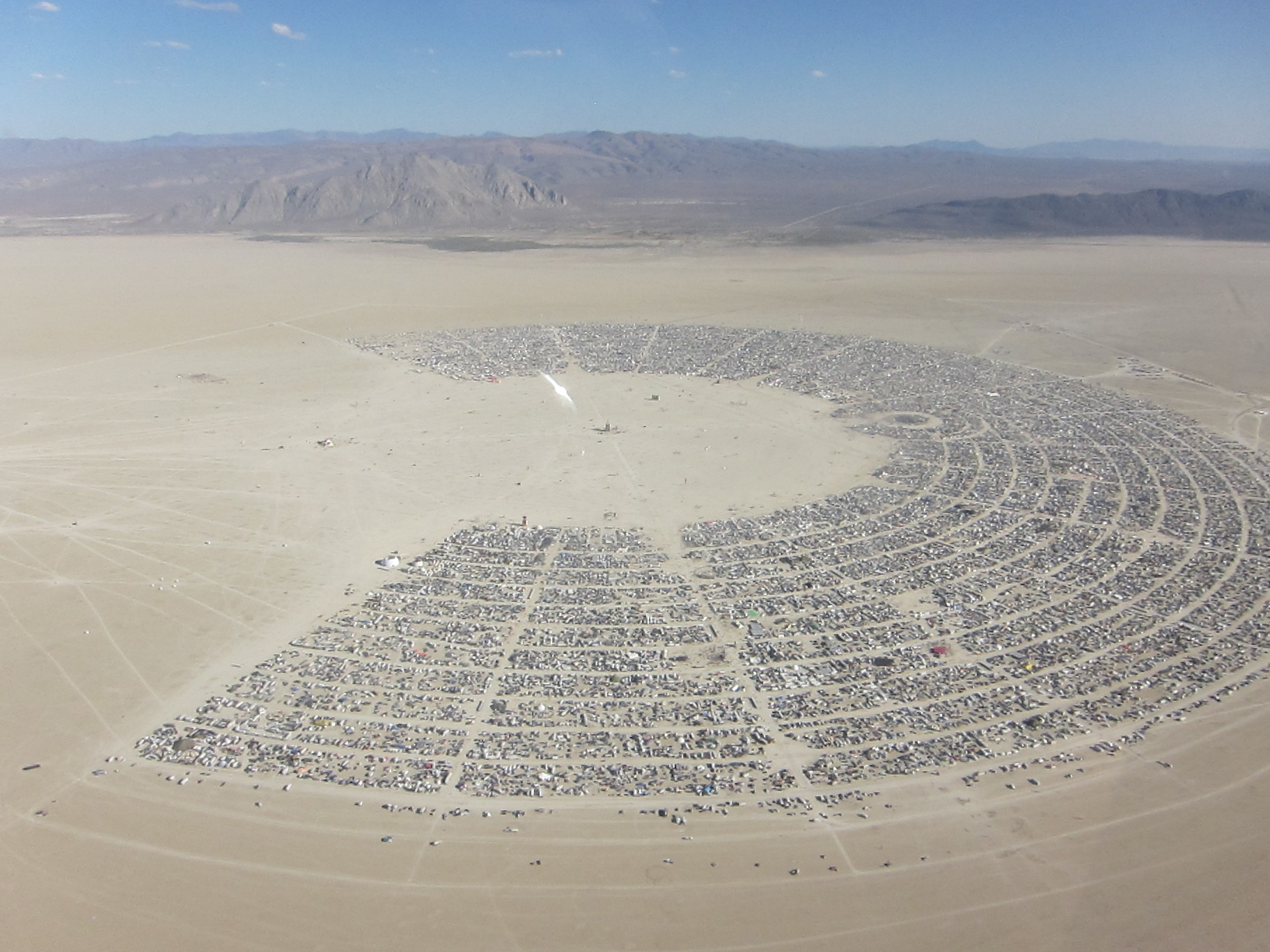 Burning Man - Courtesy of the artist