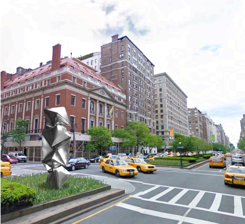 Park Avenue sculptures