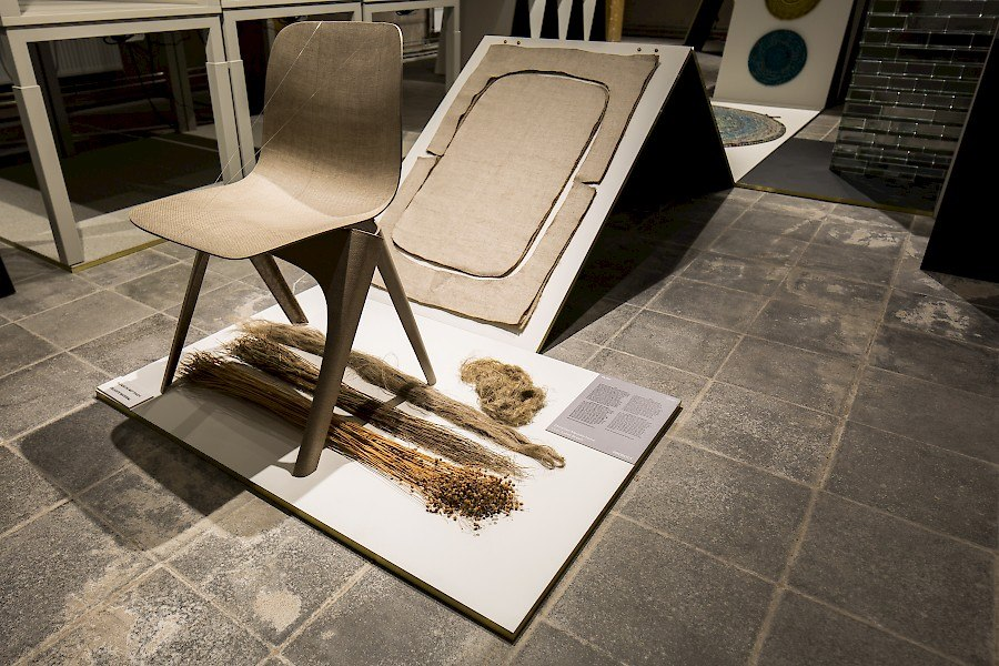 Flax Chair with Components - Courtesy of Label/Breed