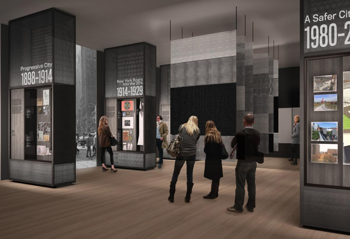 New York at its Core (Studio Joseph, Michael Bierut, Pentagram and Local Projects)