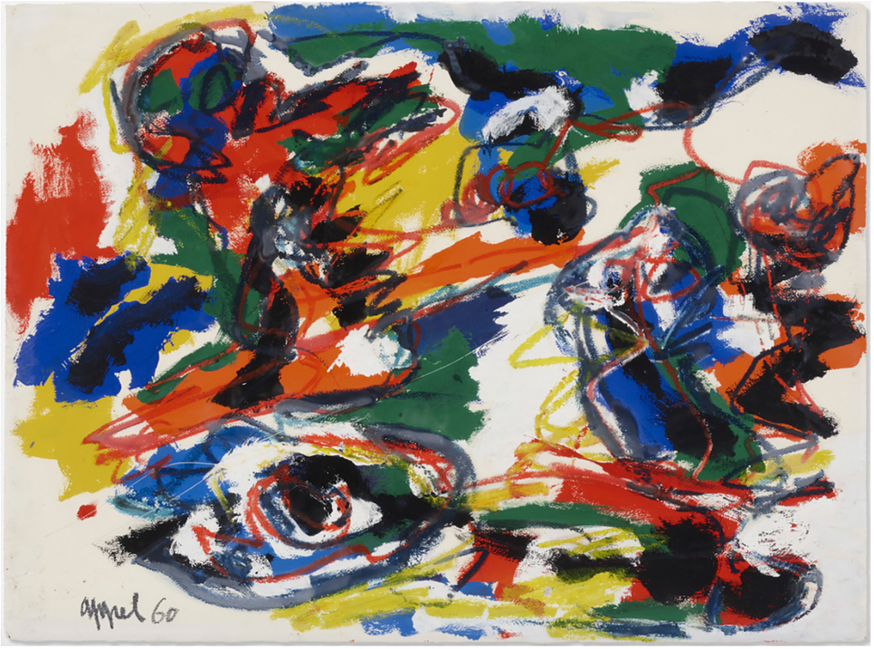 Heads like a Landscape - Karel Appel © SmithDavidson Gallery