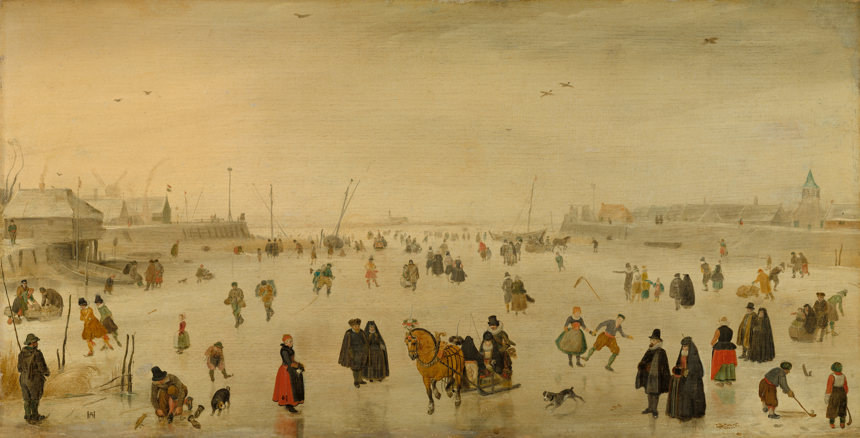 Hendrick Avercamp, A Scene on the Ice, c. 1625