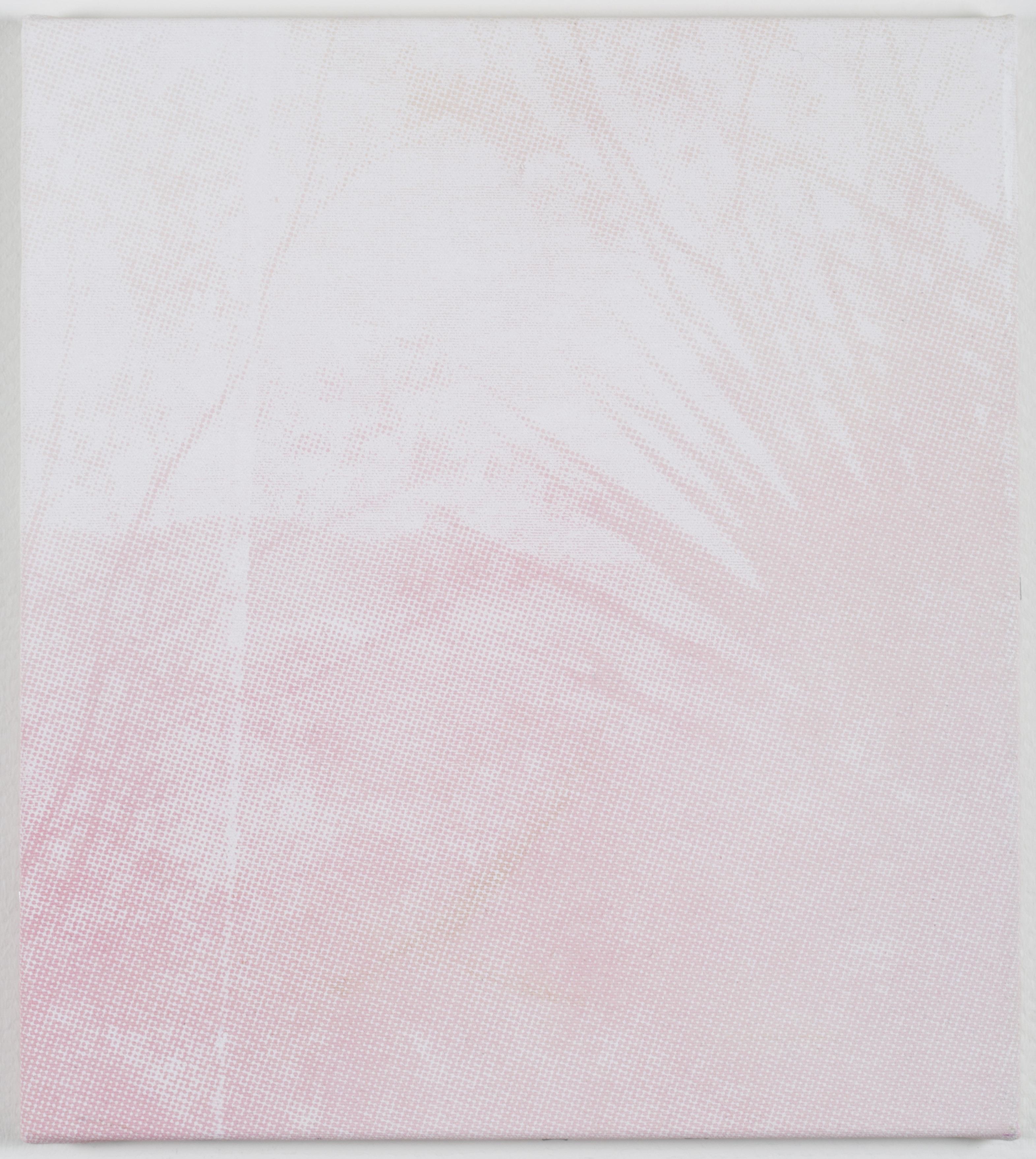 Joan van Barneveld I love you I love you, 2016 Acrylic on canvas 15.7 x 19.7 inches   Courtesy of LMAKgallery, NY