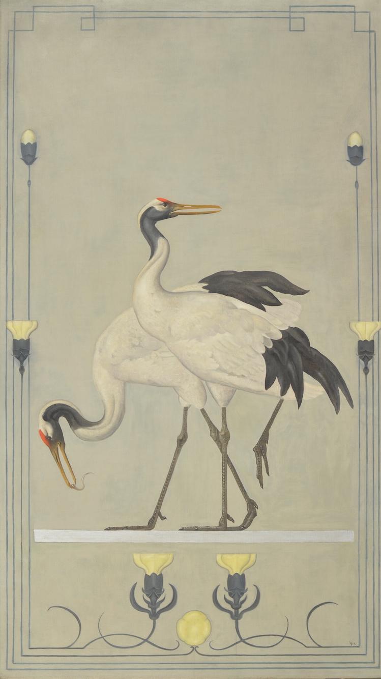 Willem van Konijnenburg, Cranes