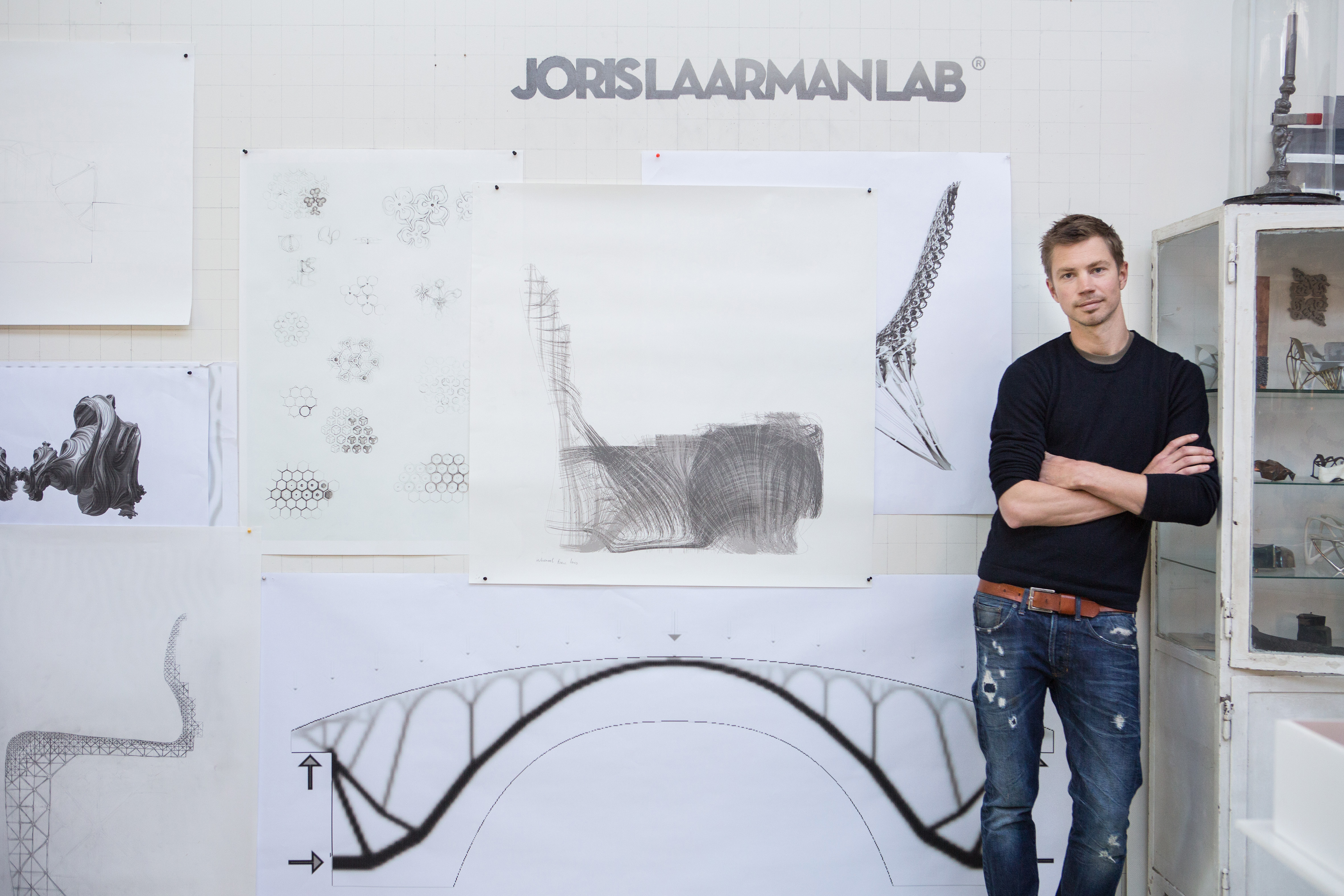 Portrait Joris Laarman - Courtesy of Joris Laarman Lab