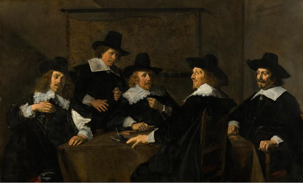 Regents of the St. Elisabeth Hospital in Haarlem, Frans Hals, 1641, Frans Hals Museum (Haarlem)