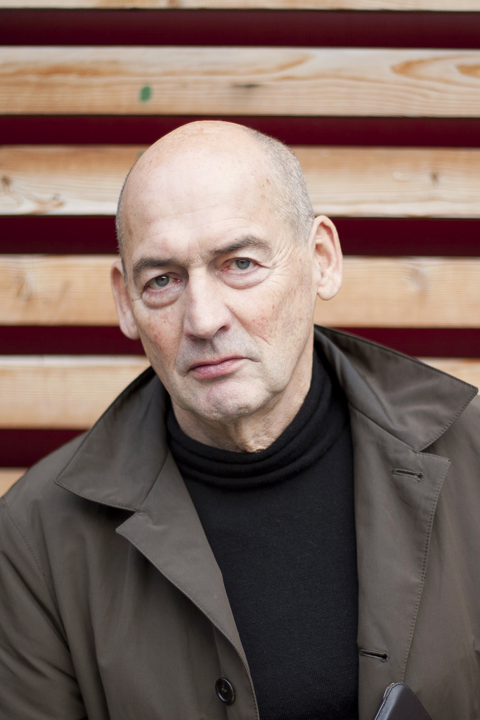 Rem Koolhaas, Courtesy of the Artist