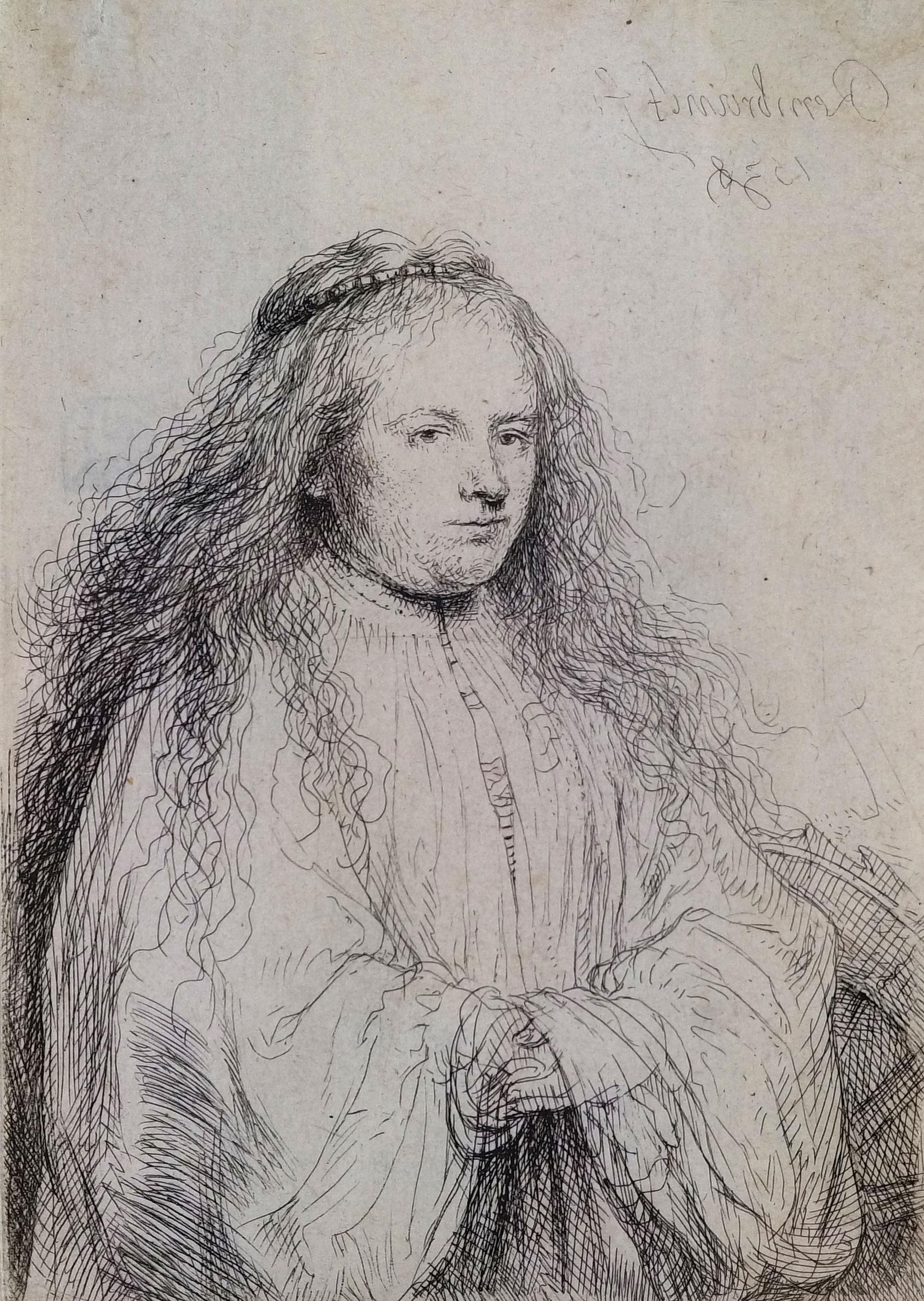 Rembrandt van Rijn, Jewish Bride