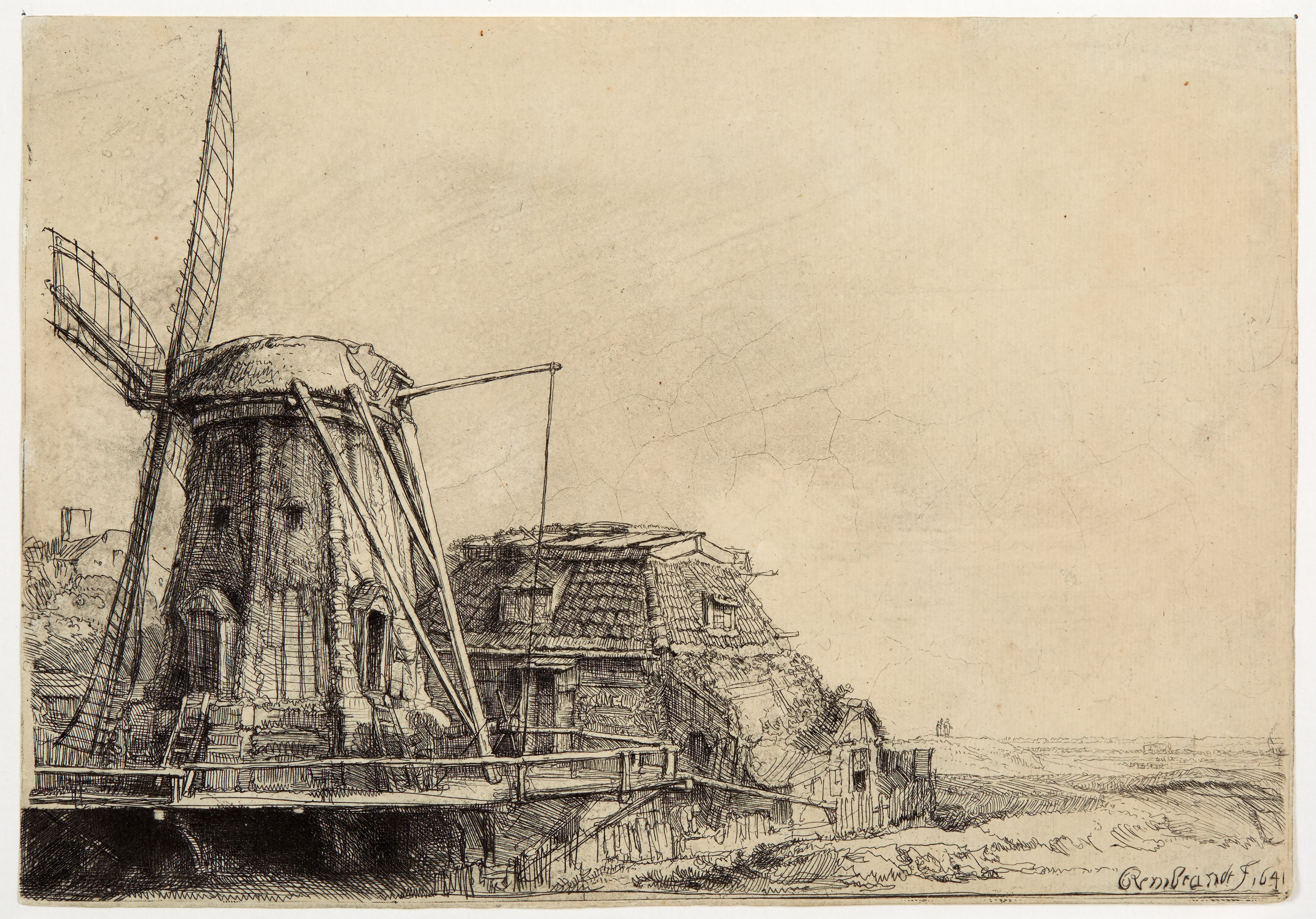Rembrandt van Rijn, The Windwill