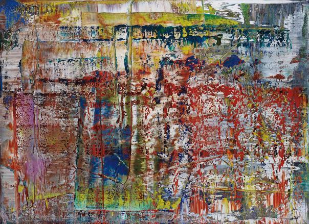 Gerhard Richter Abstraktes Bild (P1)
