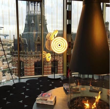 Standing Lamp W Hotel - Courtesy of Studio Dirk Vander Kooij