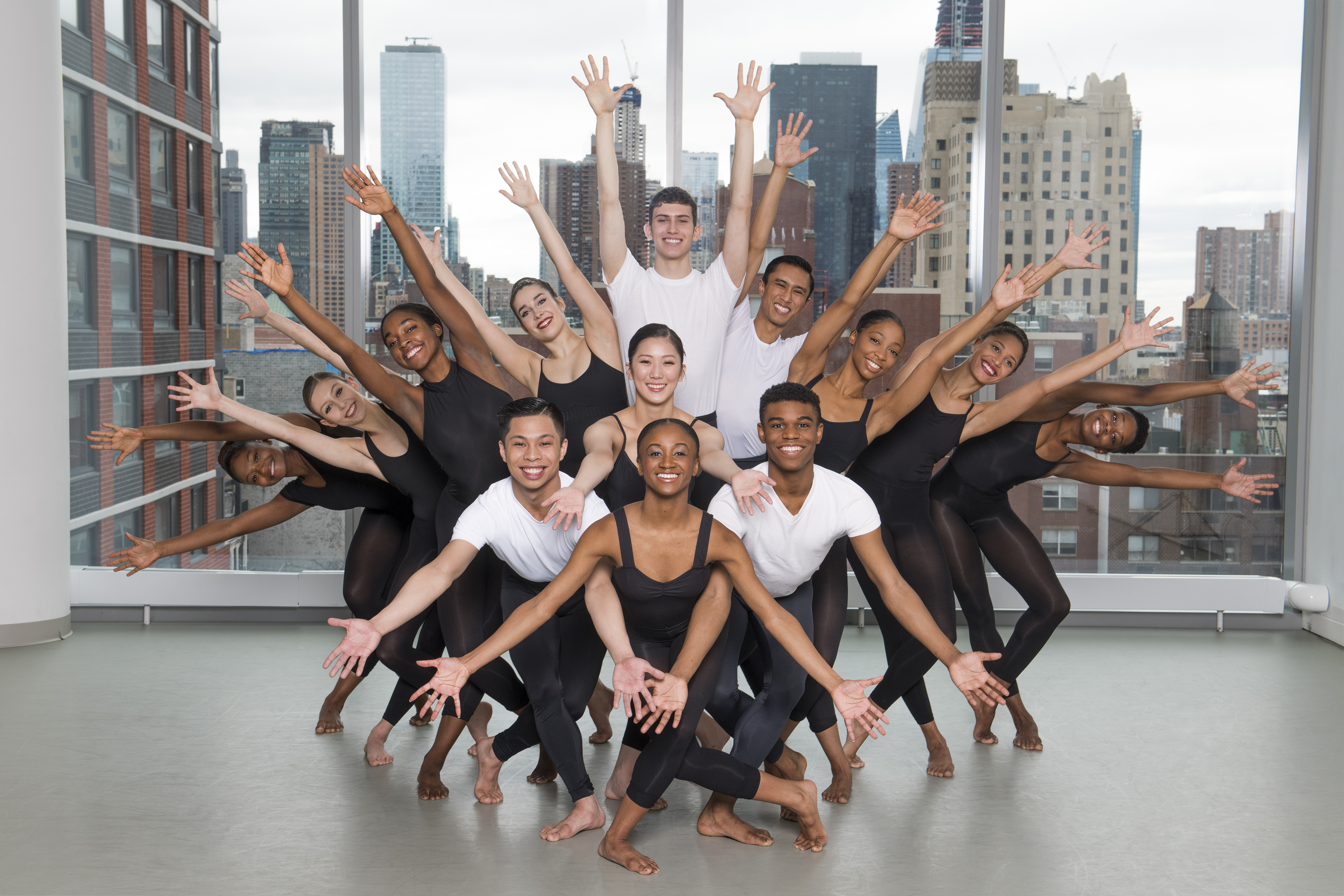 Students from The Ailey School Professional Division © Nir Arieli