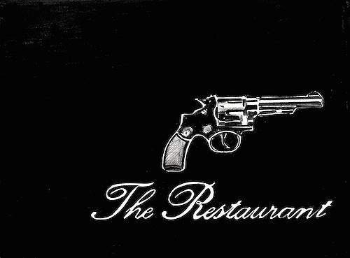 The Restaurant, 2013, The Hotel Part 3 by Marcel van Eeden