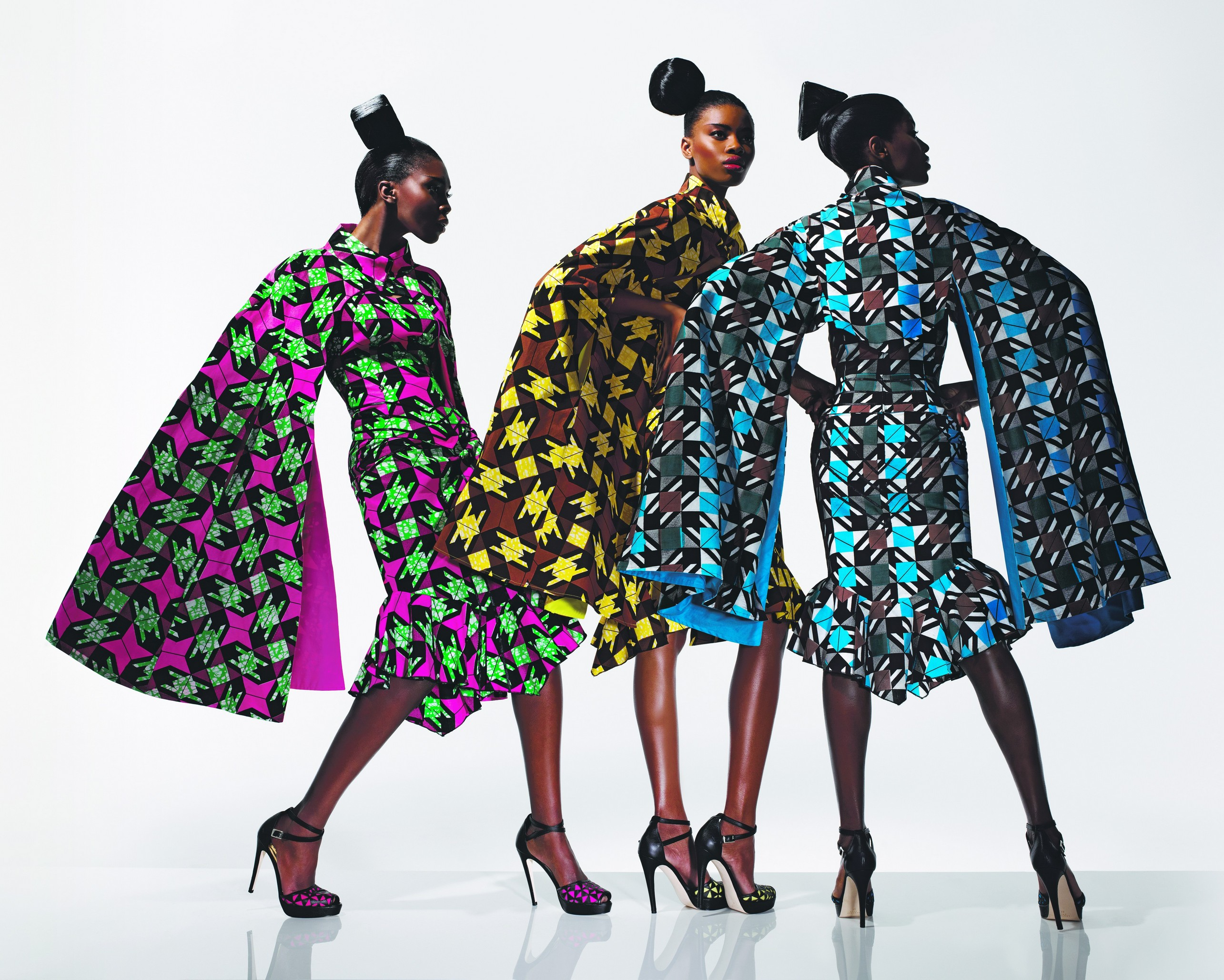 Dazzling Graphics Collection, 2011, Made by Vlisco, Helmond, Netherlands, Photograph courtesy of Vlisco