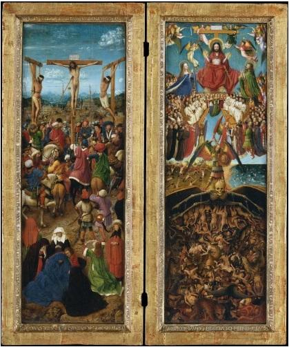 Van Eyck, Last Judgment