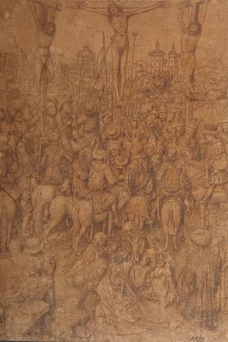Van Eyck, Crucifixion