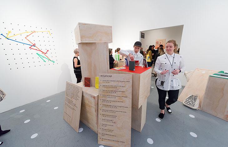 Werkplaats Typografie at LA Art Book Fair 2015.