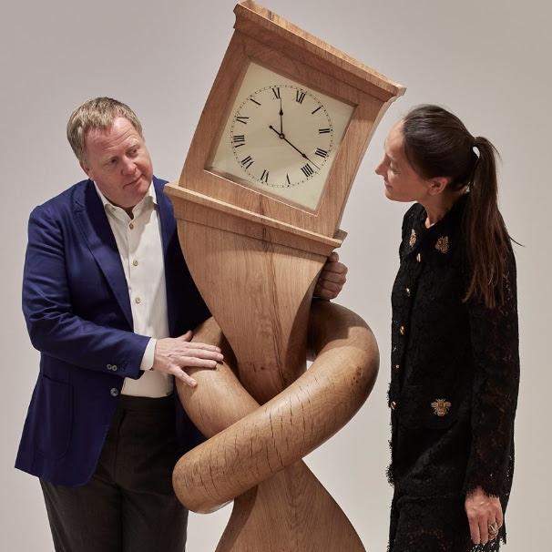 Gallery owners Miriam and Irving van Dijk