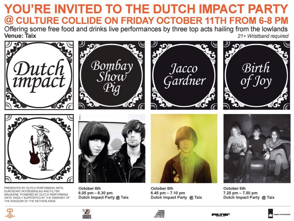 Dutch Impact Culture Collide