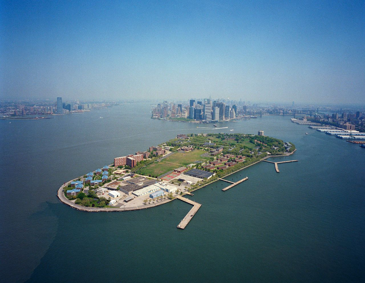 Historic Governors Island. Courtesy of West 8.
