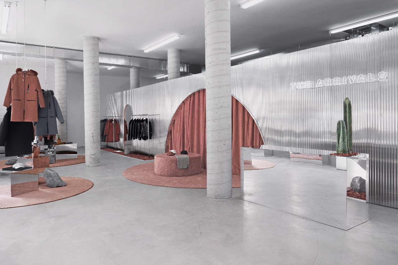 The Arrivals - Pop-up Store New York