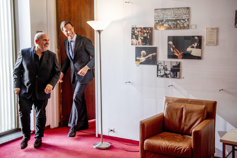 Mark Rutte and Jaap van Zweden