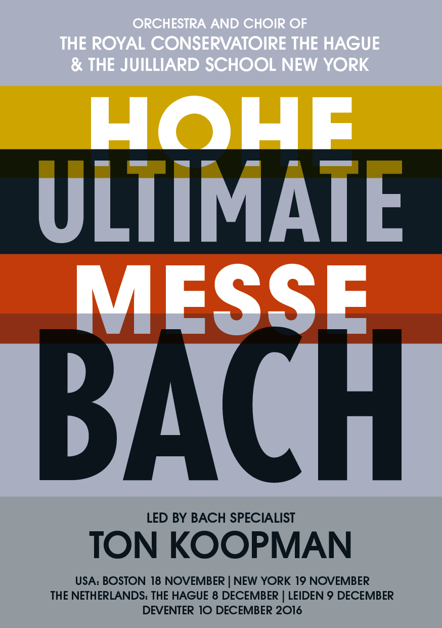 Bach Messe Flyer