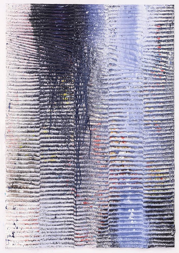 Koen Delaere, Untitled, 2016, Oil paint and acrylic on canvas, 71 x 49 1/4 in. (180 x 125 cm). Courtesy of the artist.